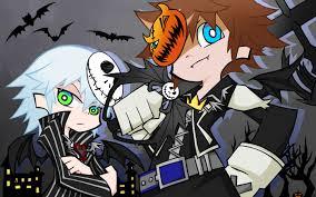Halloween Town Sora by Kingdom Hearts Wallpaper 1637112 Zerochan Anime Image Board