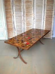 1960s dining table with ceramic tiled top for sale at 1stdibs