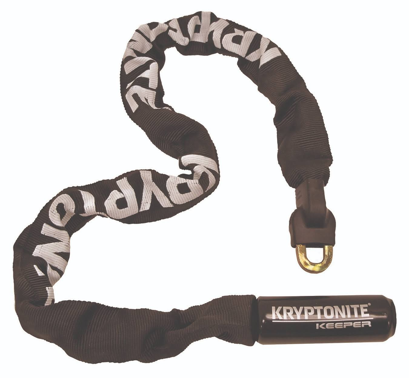 Kryptonite Keeper Integrated Chain Bicycle Lock (32-Inch)