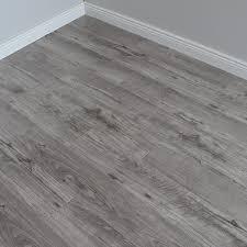 Varnished Grey Glossy Laminate Flooring