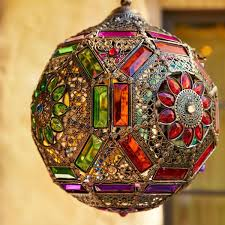 Caravan Gem Collection Bohemian Lanterns Finding The Look