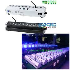 indoor dmx rgbwa led linear wall washer up lights 9 x 15w wireless