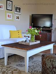 Living Room Makeovers Diy by Helen Nichole Designs Barn Wood Coffee Table U0026 Living Room