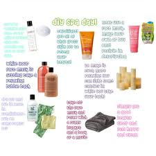 I Made This DIY Spa Day Collage On Polyvore Please Follow Me