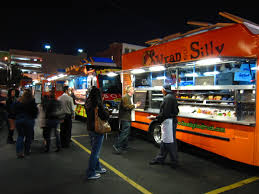 Food Trucks Safer Than Sit Down Restaurants - Jeff White And Lori ... Rice Balls Of Fire Los Angeles Food Truck Catering The Pudding California Facebook 19 Essential Trucks Winter 2016 Eater La Cubans Mad At Ches Truckwhy Trucks Los Angeles Los Angeles Mar 3 Mangia Image Photo Bigstock Best Food In Bagel Sandwich Truck Best In Usa May 22 Stock 450190381 Shutterstock Filefood The For Haiti Benefit West Malibu Chili Cookoff And Fair Coffee Bean Debuts Ice Blended This Summer Social Hospality