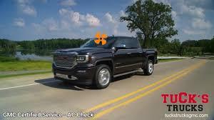 100 Tucks Trucks GMC Certified ServiceAC Check YouTube