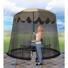 Mosquito Netting For Patio Umbrella Black by Ideaworks Umbrella Table Screen Black Jb5678 Walmart Com