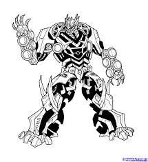 Coloriage Transformers 3 Bumblebee