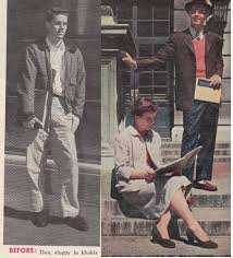 Vintage True Magazine Young Mans Style Before After