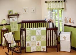 disney baby classic pooh my friend pooh 4 piece crib bedding set