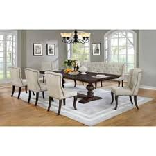 Best Quality Furniture Cappuccino Dining Set