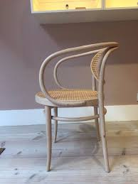 Thonet Bentwood Chair Cane Seat by Authentic Thonet 209 Chair Bentwood Armchair Solid Beechwood