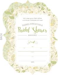 Whimsical Bridal Shower Invitations For Bezaubernd Model Design Invitation With An Attractive 13