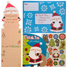 Amazoncom Paper Crafts 12 Pack Kids Letters To Santa Kits