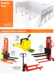 100 Hydraulic Hand Truck Mezzanine Floors Material Ling Equipment Electric Pallet