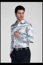 2017 2017 new arrival custom silk like satin men wear shirts groom