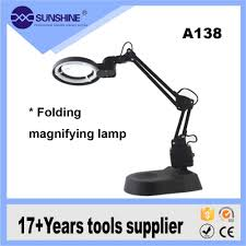 Magnifying Floor Lamp 10x by Led Magnifier Desktop Led Magnifying Lamp Led Magnifier Desktop
