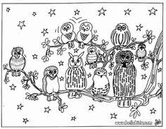 Owl Coloring Pages Reading And Learning Drawing For Kids