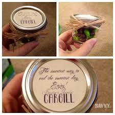 Wedding Favors Mason Jars Kinda Funny Seeing The Last Name Cargill On There