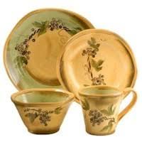 Clay Art Rustic Vines Dinnerware