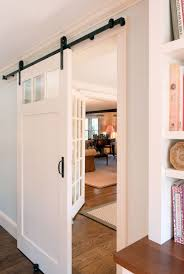 Bringing Sliding Barn Doors Inside How To Install The Rolling Barn Door Simple Smooth Ohsoeasy Large Sliding Doors From Brown Old Wood With Diagonal Accent 20 Home Offices With Diy Interior The Wooden Houses Styles Beautiful Style For Bring Inside Overlapping Hdware Pass Design Double Tutorial H20bungalow Fniture New Ideas House Living Room Awesome Frosted Glass Decor