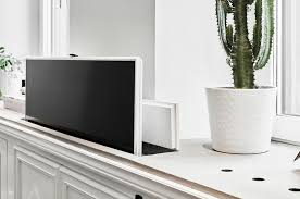 With smart house technology expanding hidden tvs can pop up flip up or drop down almost anywhere