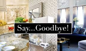 Interior Design Trends To Ditch In 2016