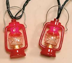Small Red Lantern Lights