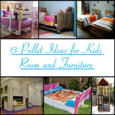 13 Pallet Ideas For Kids Projects
