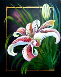Discover How To Paint A Beautiful Spring Lily In Acrylics Using Marion Duttons Versatile And Beginner Friendly Method