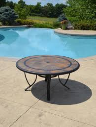sterling home patio orleans round dining patio table at menards