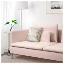 söderhamn 3 seat sofa samsta light pink ikea