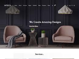 100 Home Interior Website 15 Best Design WordPress Themes 2019 AThemes