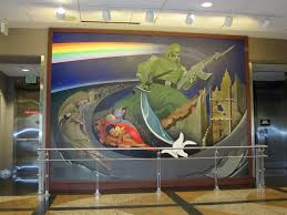 Denver International Airport Murals Removed by The Weird Art Of Denver International Airport