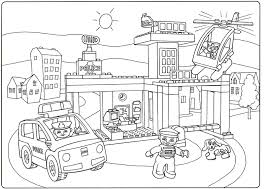 Lego City Printable Coloring Pages 12 Breadedcat Free