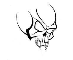 Simple Tribal Tattoo Meanings Skull Designs The Next Most Favored In Both