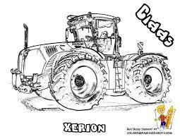 Dessin De Remorque Imprimer Coloriage Tracteur Tom Avec Fourche