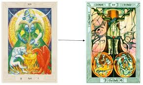 thoth deck the fool thoth tarot card tutorial esoteric meanings