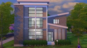 mod les sims 4 nouvelles maisons maison de ville moderne