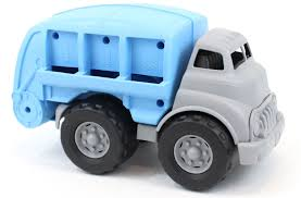 Green Toys Recycling Truck Blue Vehicle Toy, Grey, 12