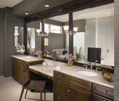 Bathroom Vanities With Matching Makeup Area by Modern Bathroom Vanity With Makeup Area Best Bathroom Decoration