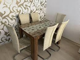 esszimmer tisch 6 stühle günstig