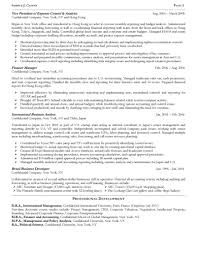 Senior Operating And Finance Executive Resume