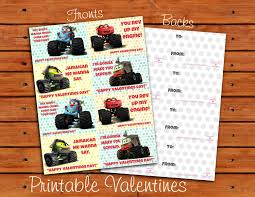 100 Monster Truck Mater From S Tall Tales Valentine Set Etsy