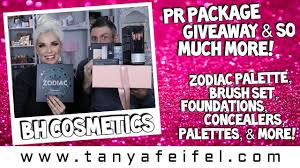 BH Cosmetics Giveaway! Zodiac Palette, Brush Set, Foundation, Concealer,  PR, & More! | Tanya Feifel Coupon Code To Bh Cosmetics Shaaanxo Palette X Swatches Review Giveaway Closed Arzan Blogs Zodiac Brush Set Foundation Concealer Pr More Tanya Feifel Haul With Reviews Cosmetics Royal Affair Holiday Collection Worth The Hype Bold Blue Makeup Tutorial Viva_glam_kay Youtube Looks Swatch Itsmyraye Collab Travel Series Discount Code Affiliate For Save Over 50 Code The Best Promo Makeup Free Shipping Will I Buy It Nikkietutorials X Ofra Dose Of Colors Colourpop
