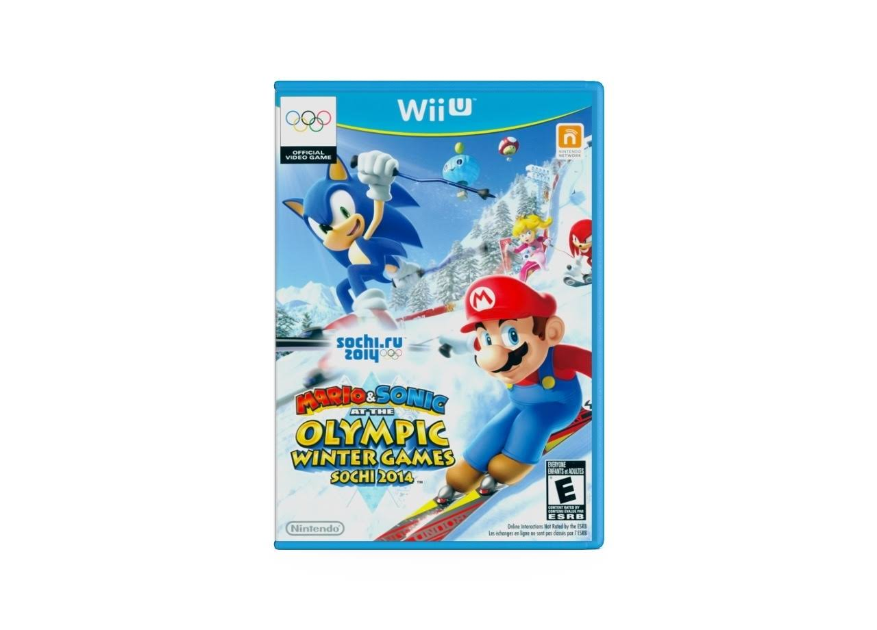 Mario & Sonic at the Sochi 2014 - Wii