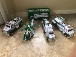 HESS TOY TRUCKS. Lot Of 5. 2011-2014 Models Gently Used, And New In ...