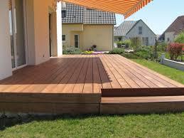 terrasse bois dalle bricolage maison
