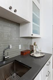 kitchen backsplash gray subway tile backsplash porcelain subway