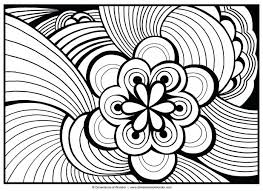 Free Printable Coloring Pages For Preschoolers Large Print Adults Sheets Abstract Images